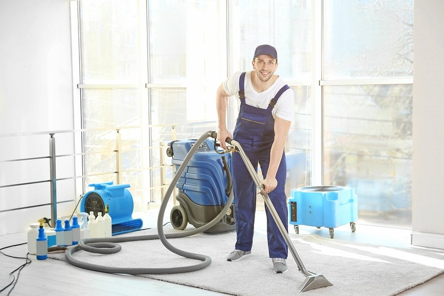 Full carpet cleaning franchise package included